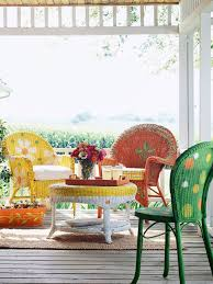 magnificent colored wicker furniture 17 best ideas about painted