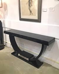 black lacquer console table black lacquer console table furniture valerio art deco