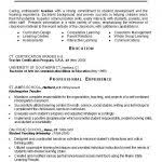 Resume Templates Doc Free Download Resume Preschool Teacher Resume Template Free Sample Special