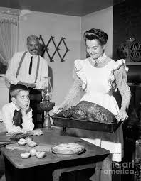 fashioned thanksgiving dinner photograph by debrocke classicstock