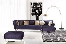 Microfiber Contemporary Sofa Microfiber Sectionals Ebay