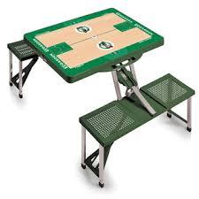 Portable Folding Picnic Table Picnic Time Boston Celtics Portable Folding Picnic Table Null