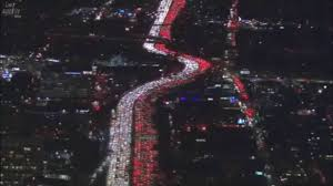 los angeles traffic thanksgiving 2016