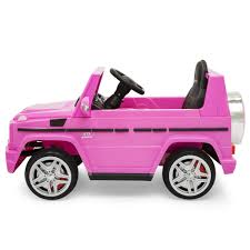 pink mercedes 12 v licensed mercedes suv ride on pink u2013 best choice products
