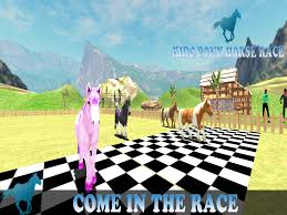 pony horse kids race 3d android apps on google play