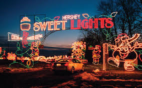 how to put christmas lights on your car hershey sweet lights hersheypark