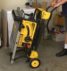 dewalt table saw review dewalt 10 jobsite table saw newwoodworker com llc