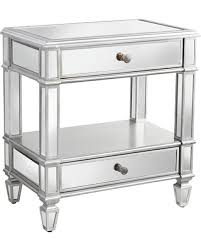 check out these bargains on hayworth mirrored silver 2 drawer