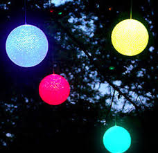 colored outdoor light balls 14 amusing outdoor lighted