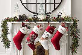 How To Decorate A Mantel For Christmas Holiday Mantel Pottery Barn