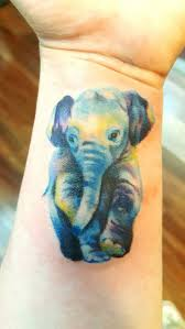 best 25 watercolor elephant tattoos ideas on pinterest baby