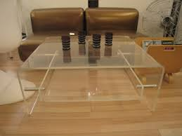 ideas for lucite coffee table design 20427