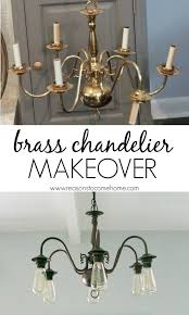 Chandeliers For Dining Rooms by Best 25 Chandelier Makeover Ideas On Pinterest Brass Chandelier