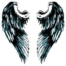 upper back angel wings tattoo for girls photos pictures and
