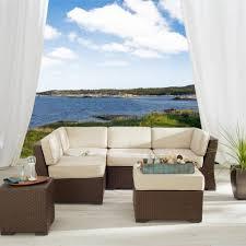 White Wicker Outdoor Patio Furniture - exterior design elegant dark overstock patio furniture with white
