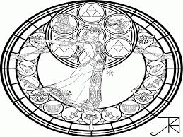 printable stained glass coloring pages coloring home