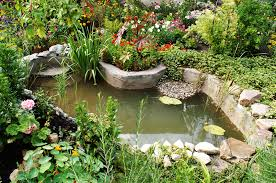 Backyard Garden Ponds 57 Garden Water Feature Designs Designing Idea