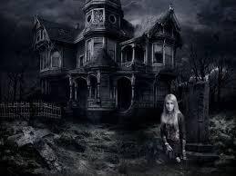 haunted house desktop wallpaper wallpapersafari