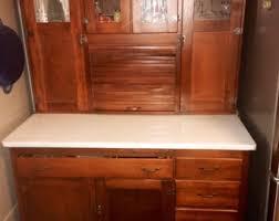Vintage Kitchen Cabinets For Sale Pantry Cabinet Etsy