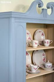 Get In Touch For Hutch Before U0026 After My Thrifted China Cabinet Makeover