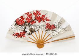 japanese folding fan japanese folding fan stock photo 191622164