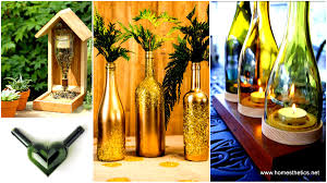Wine Bottle Home Decor 26 Wine Bottle Crafts To Surprise Your Guests Beautifully