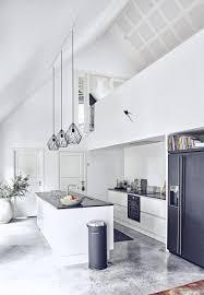 white kitchen with high ceiling kitchen blog pinterest