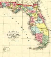 Flordia Map Florida Memory Teacher Resources Seminole Origins And