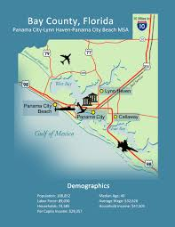 Map Of Panama City Beach Florida by Bay Economic Development Alliance Eda Business Expansion Resources