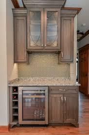 craftsman cabin kitchen cabinet colors backsplash brown cabinets cabin remodeling