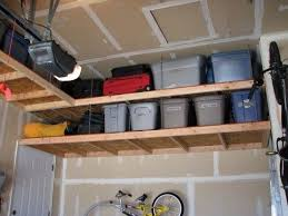 overhead garage storage rack plans creative garage overhead