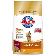 science diet light calories hill s science diet hairball control light cat food 15 5 lb
