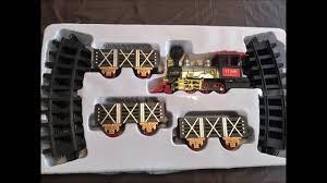 battery operated train set with real smoke music u0026 lights youtube