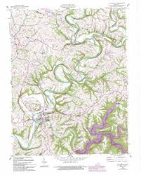 Ky Map Taylorsville Lake Ky Map Image Gallery Hcpr