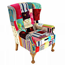 Patchwork Armchair For Sale Blofeld Swivel Patchwork Chair Kelly Swallow Bespoke Chairs