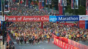 Chicago Marathon Map Thousands Of Runners Take To The Streets In The 39th Annual Bank
