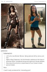 Muscle Woman Meme - tumblr gets it right about gal gadot as wonder woman imgur
