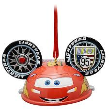 ears hat ornament lightning mcqueen limited edition