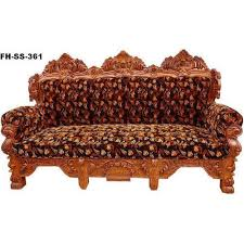 Three Seater Wooden Sofa Designs Fancy 3 Seater Sofa Designer Sofa Real Art And Creation