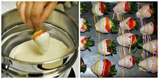 White Chocolate Dipped Strawberries Recipe Easter White Chocolate Covered Strawberries Centsable Momma