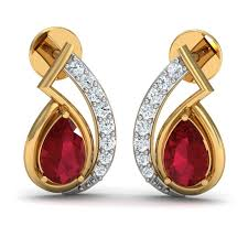 earrings online india earrings designs with studded diamonds online in india
