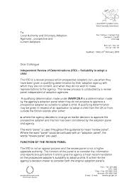 letter of recommendation for adoption template 28 images