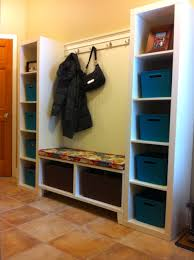 Using 2 Ikea Expedit Bookcases by Photo 1 I Put All My Pins Together And Created This Mudroom 2