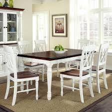 white farmhouse table black chairs white farm table and chairs kitchen wooden farmhouse table cream and