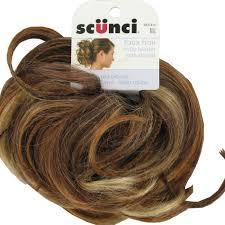 scunci hair scunci faux hair curly with braids