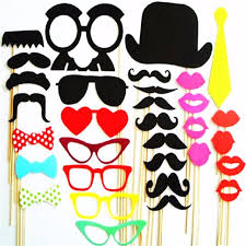 photo booth supplies online shop photo booth props 34pcs masks favor wedding