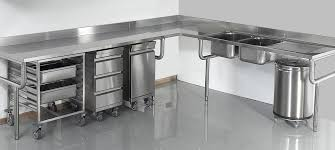 materiel cuisine matériel inox pour votre cuisine professionnelle boulangerie
