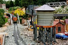 the hudson gardens garden railroad