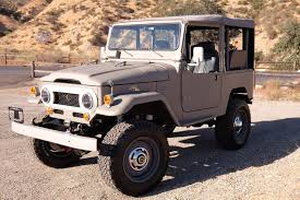 classic land cruiser for sale icon rolls out old series for toyota fj fans automobile