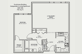 250 Square Foot Apartment Floor Plan by Homewood At Martinsburg Homewood Retirement Centers Md Pa Va